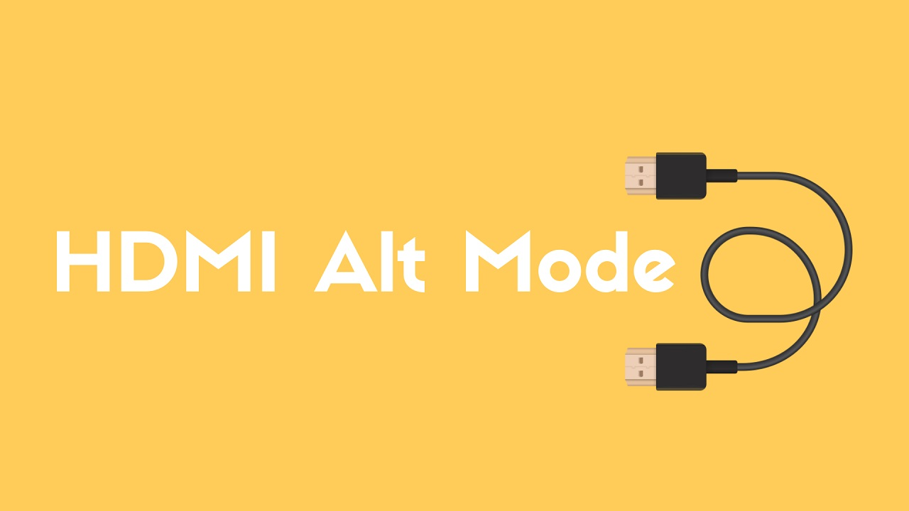 HDMI Alternate Mode für USB Typ-C